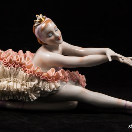 Балерина Лебедь, кружевная, Unterweissbach, Германия