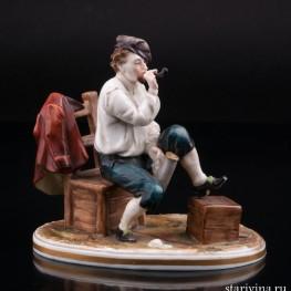 Мужчина с трубкой, Дрезден, Германия, пер. пол. 20 в
