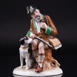 Охотник с собакой, Fasold & Stauch, Германия, 1913-72 гг